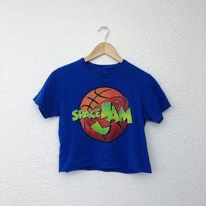 Tops - Space Jam Crop Top
